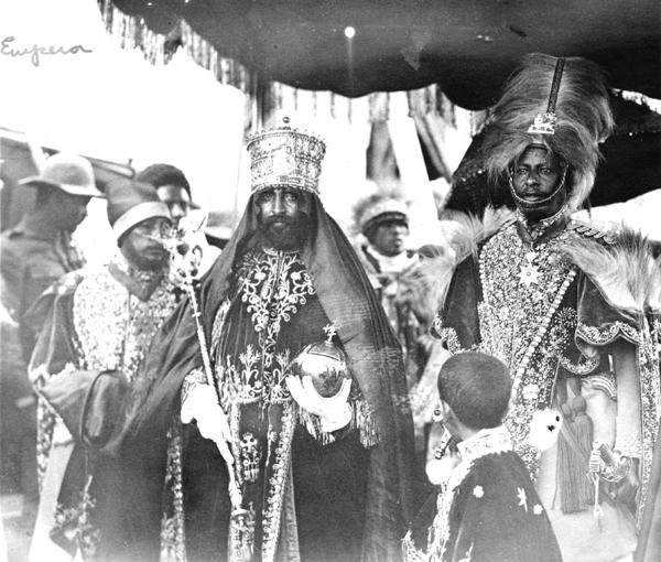 Coronation of HIM Haile Selassie - 2 Nov 1930