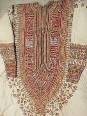 One of the embroidered robes of Woyzaro Terunesh