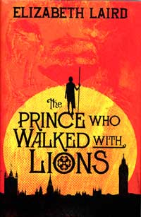 The Prince who Walked with Lions book cover